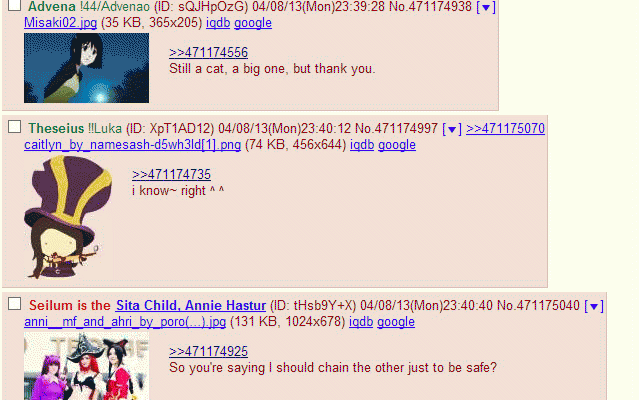 4chan X Name Sync :: My Extensions