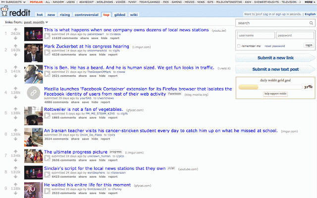 Old Reddit Redirect :: My Extensions