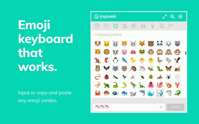 Emoji Keyboard by JoyPixels™ :: My Extensions