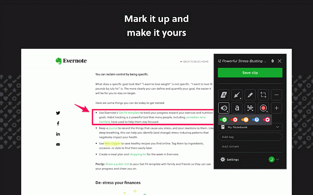 Evernote Web Clipper :: My Extensions